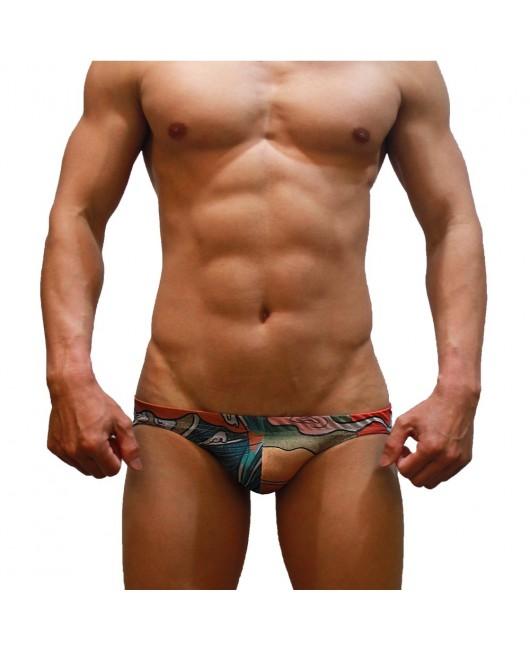 Sexy Swimming Briefs (Ukiyo-e)